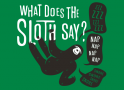 What Does The Sloth Say? artwork