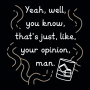 Your Opinion, Man artwork