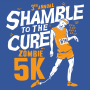 Shamble To The Cure Zombie 5K artwork