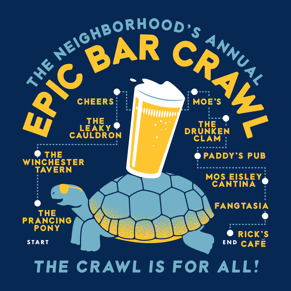 Epic Bar Crawl