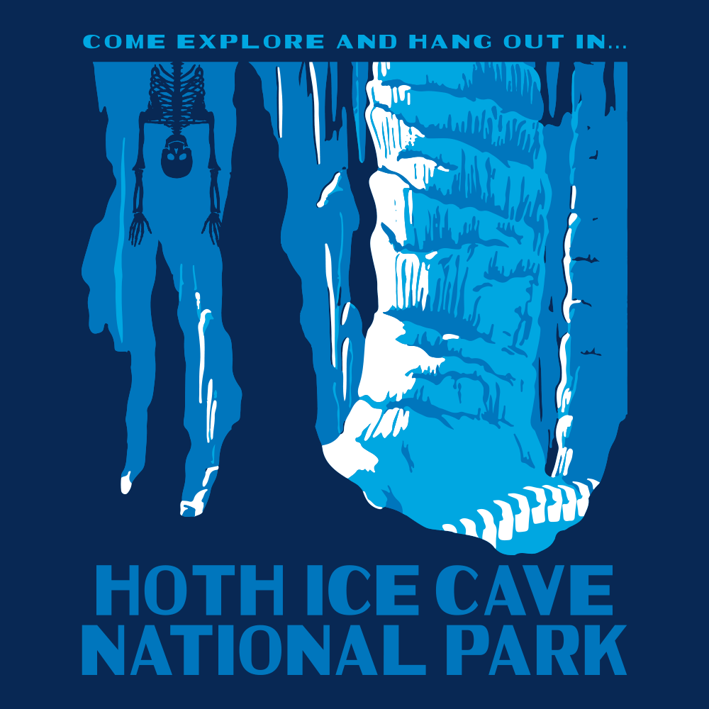 Hoth Ice Cave National Park