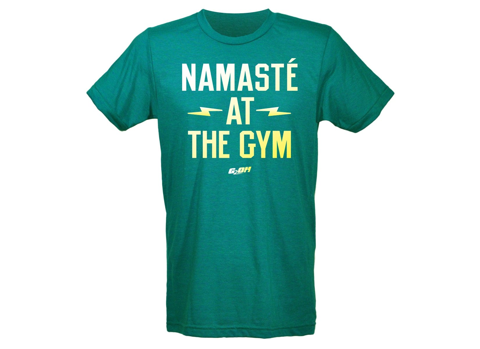 Namaste At The Gym Men's T-Shirt