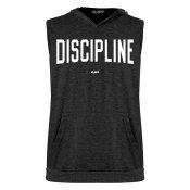 Discipline Sleeveless Tri-Blend Hoodie