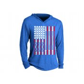 Workout Flag Tri-Blend Hoodie