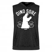 Dino Sore Sleeveless Tri-Blend Hoodie