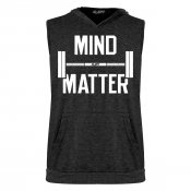 Mind Over Matter Sleeveless Tri-Blend Hoodie