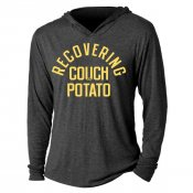 Recovering Couch Potato Tri-Blend Hoodie