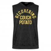 Recovering Couch Potato Sleeveless Tri-Blend Hoodie
