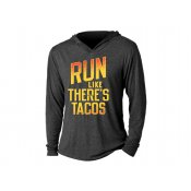 Run Like There's Tacos Tri-Blend Hoodie