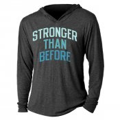 Stronger Than Before Tri-Blend Hoodie