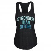 Stronger Than Before Tri-Blend Tank Top