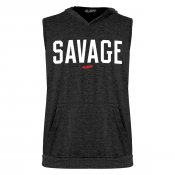 Savage Sleeveless Tri-Blend Hoodie