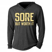 Sore But Worth It Tri-Blend Hoodie
