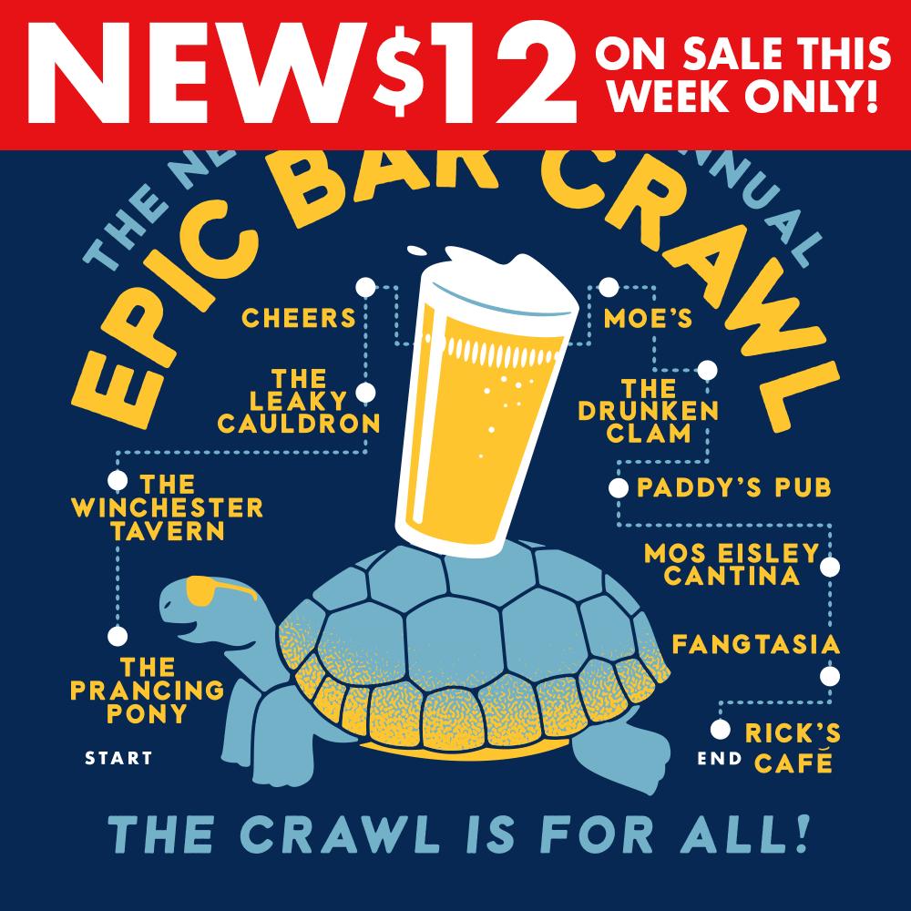 Epic Bar Crawl