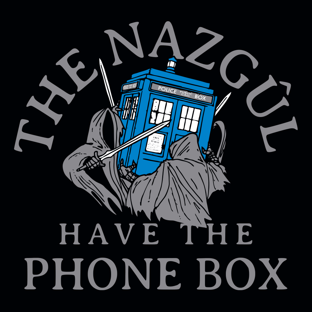 The Nazgul Have The Phone Box