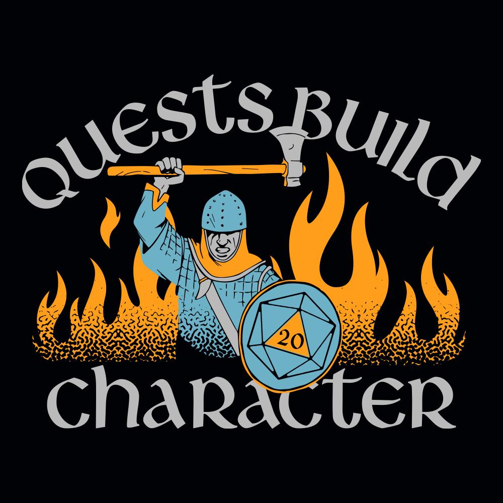 Quests Build Character