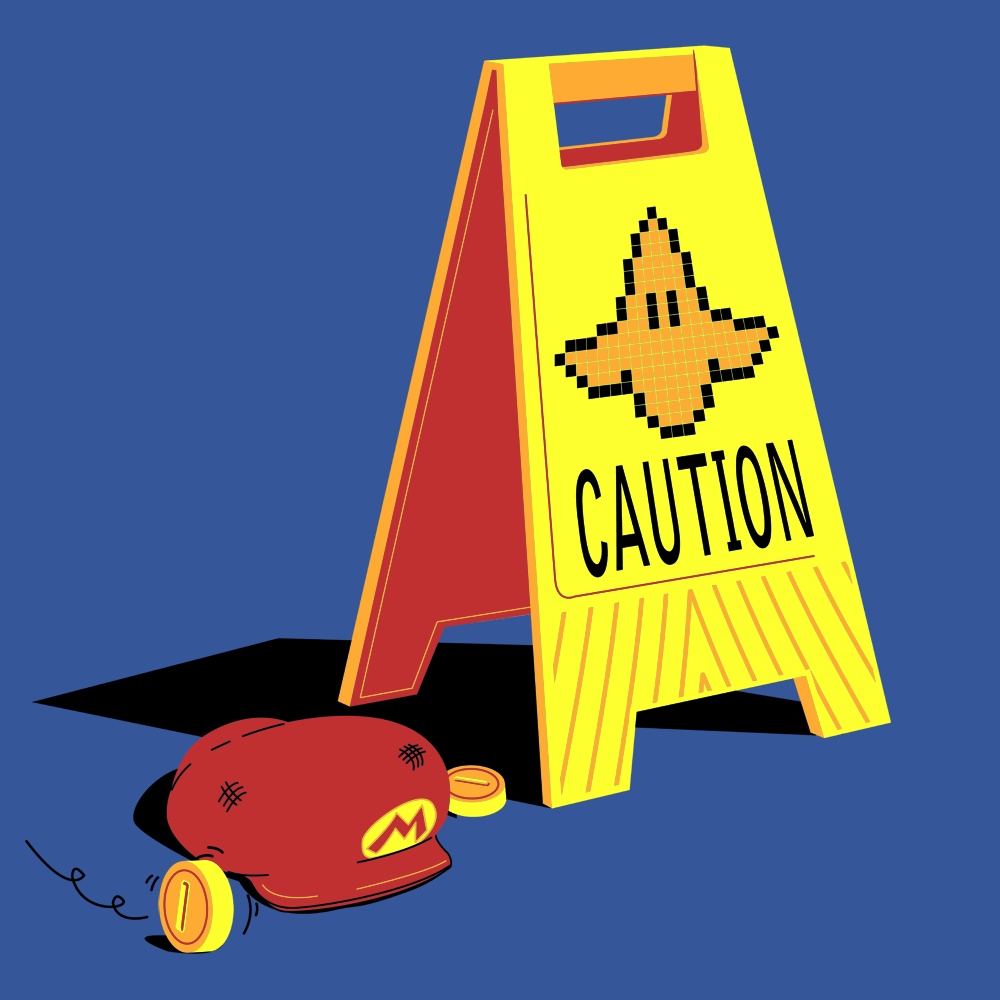 Caution Banana