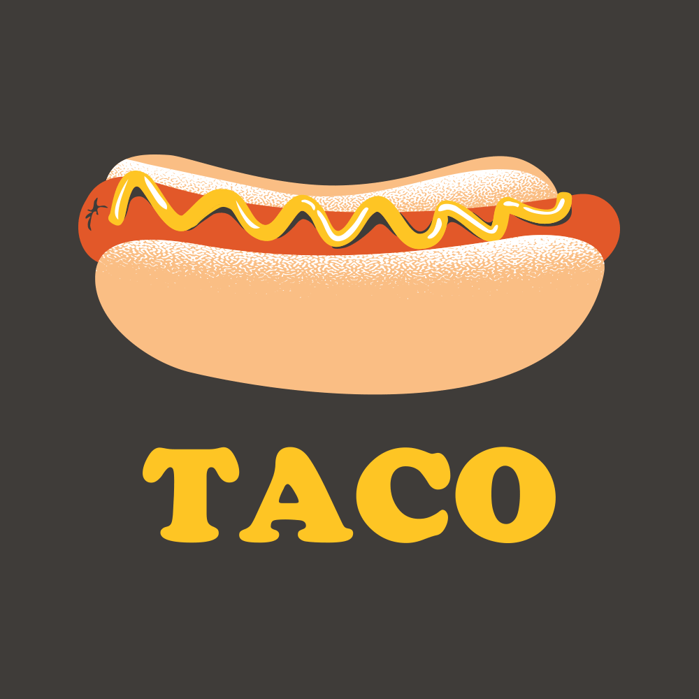 Hotdog Taco