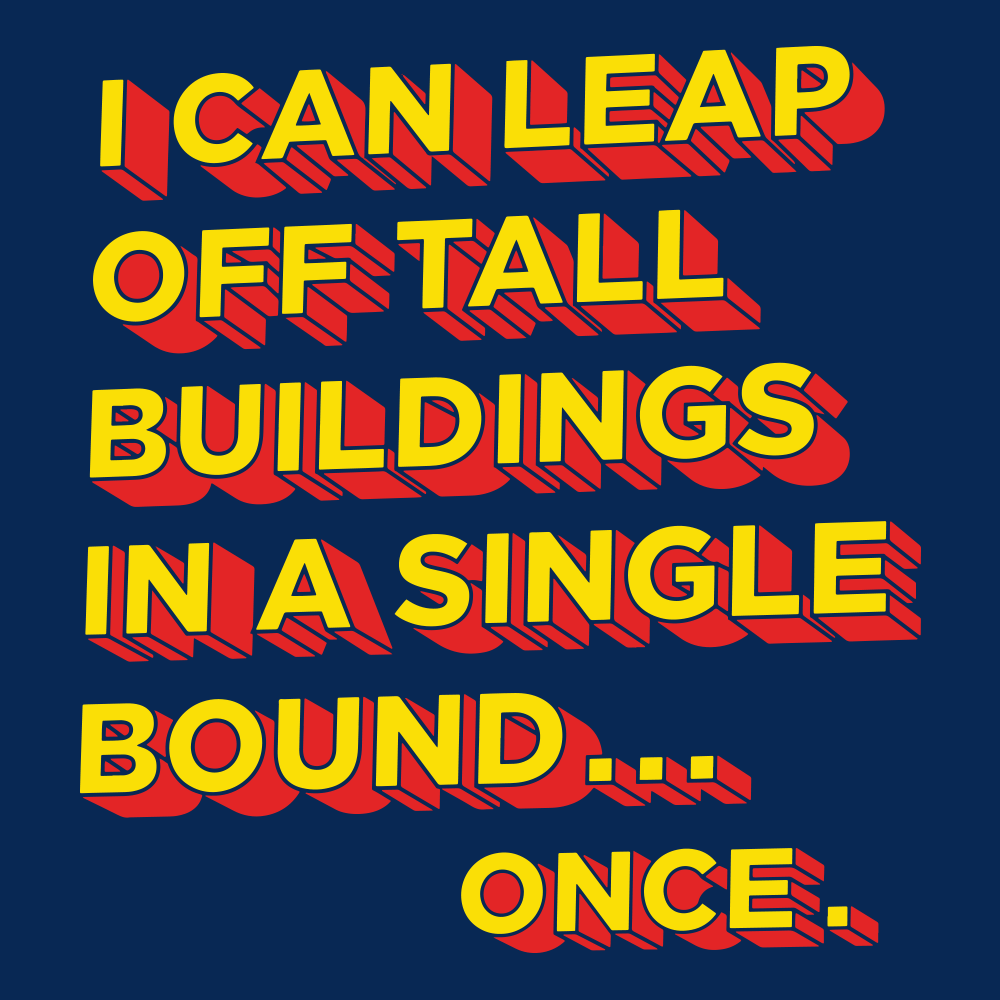 Tall Buildings In A Single Bound