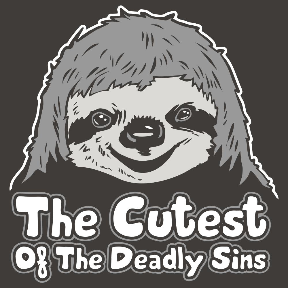 Sloth, The Cutest Of The Deadly Sins