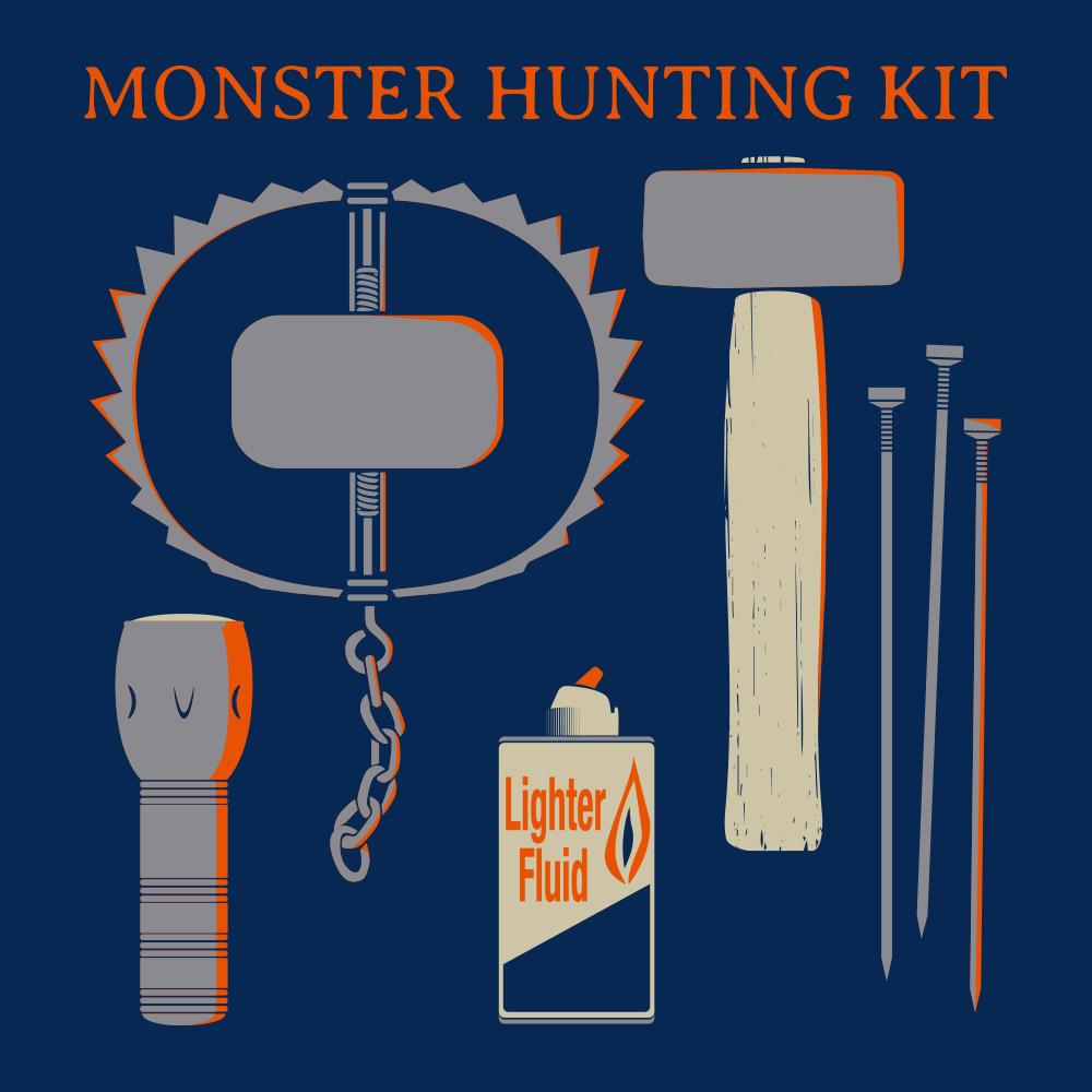 Monster Hunting Kit