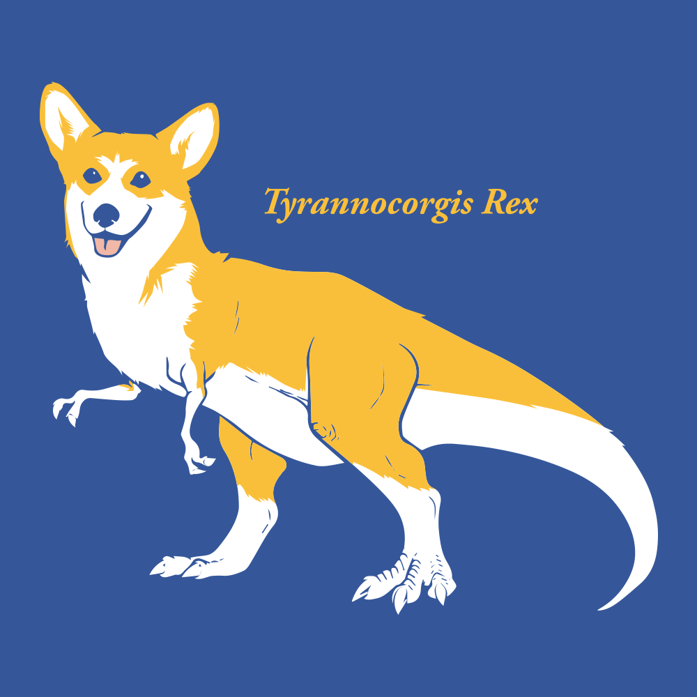 Tyrannocorgis Rex
