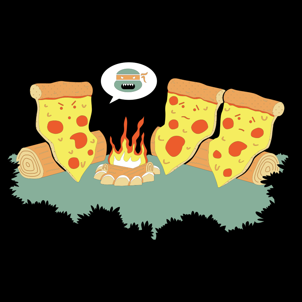 Pizza Campfire Story