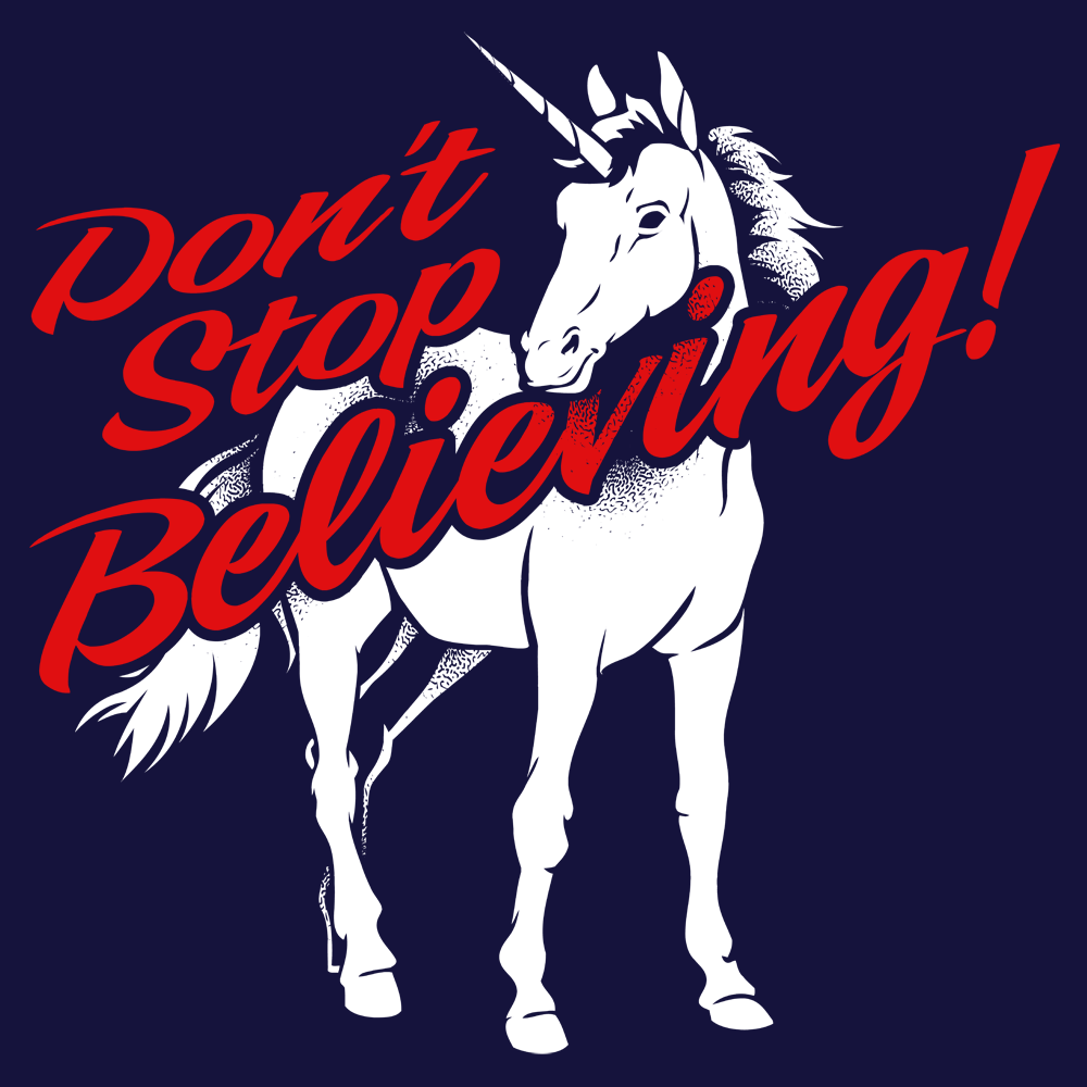 Don't Stop Believing Unicorn