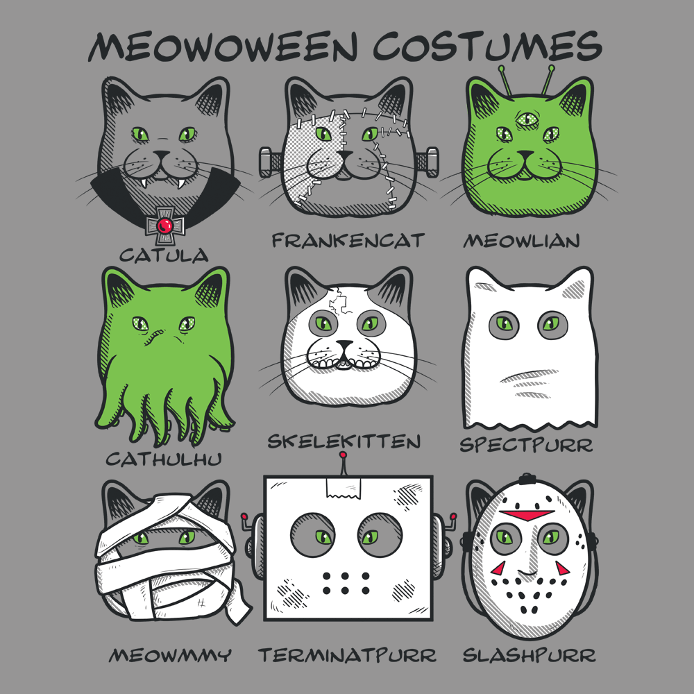 Meowoween Costumes