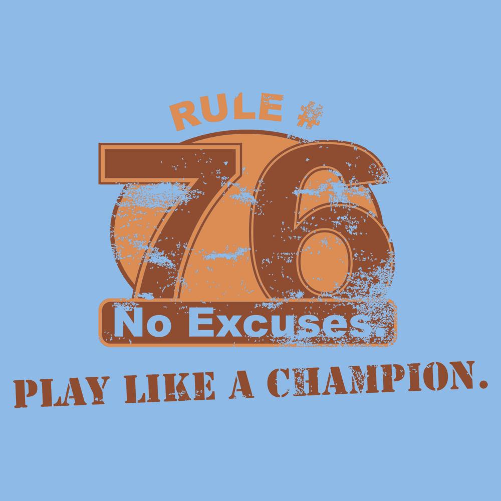 Rule 76 Play Like A Champion