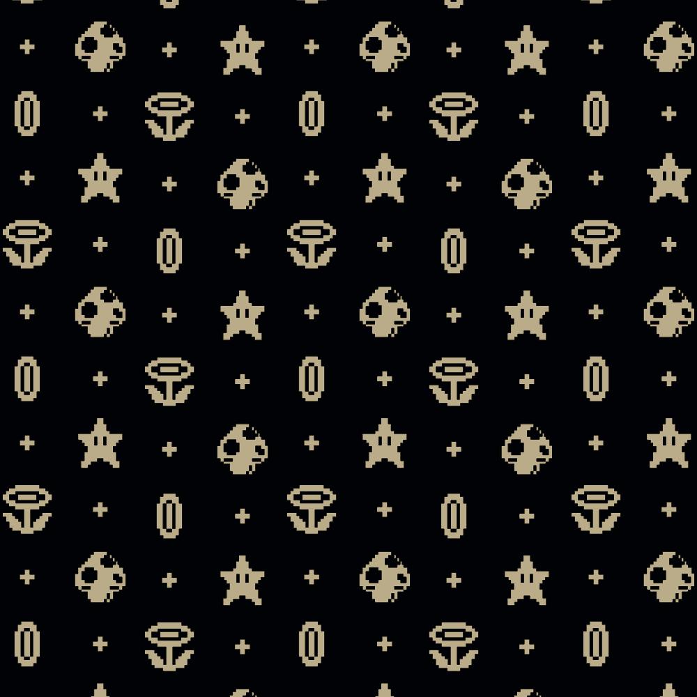 Pixels Pattern print