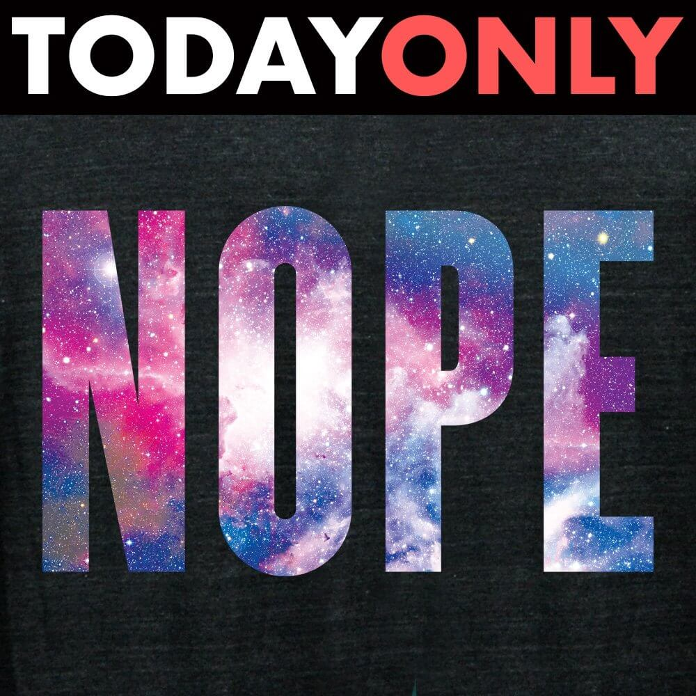 Nope Limited Edition Tri-Blend