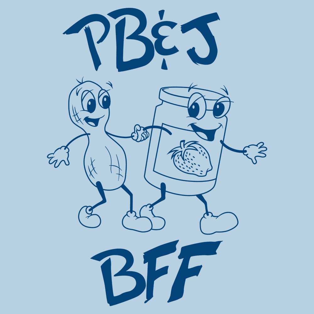 Peanut Butter And Jelly - BFF