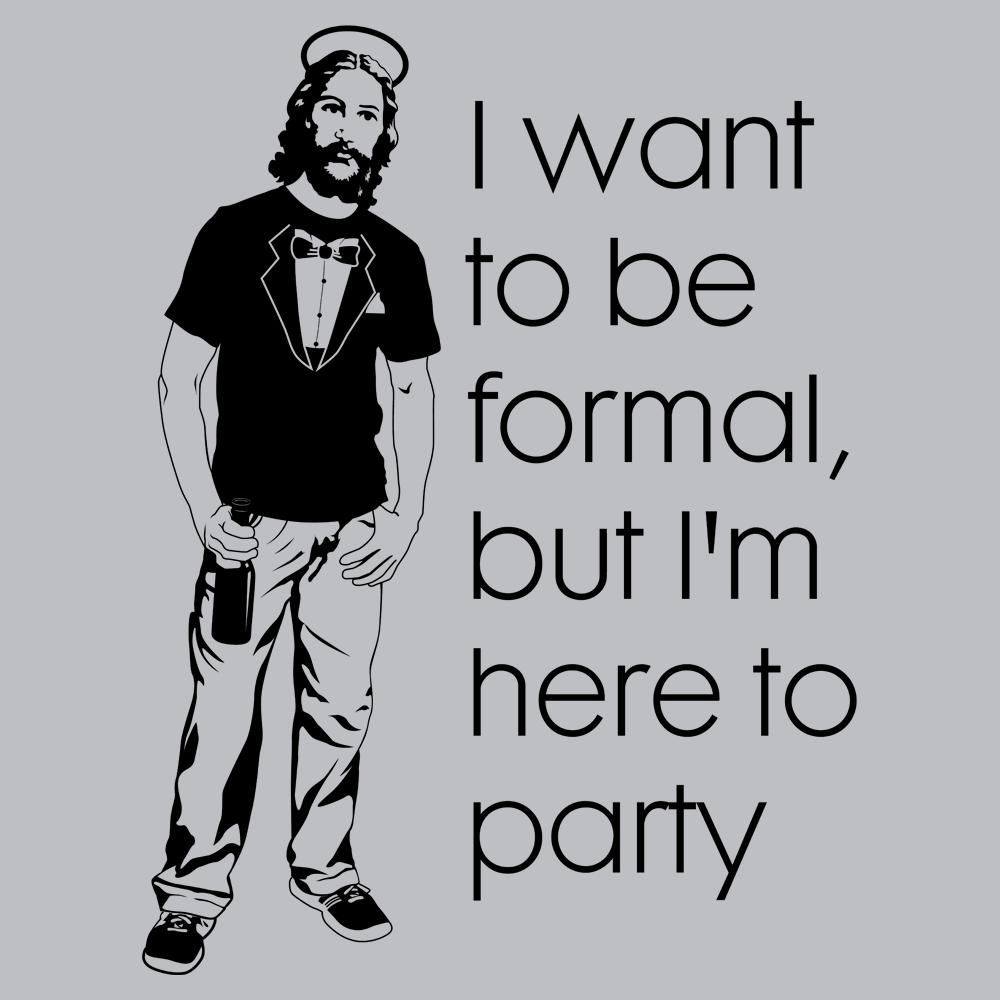 Tuxedo T-Shirt Jesus