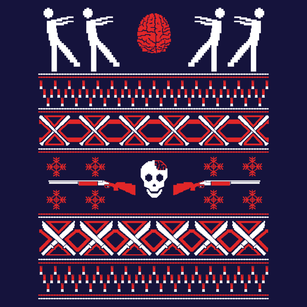 Zombie Christmas Sweater