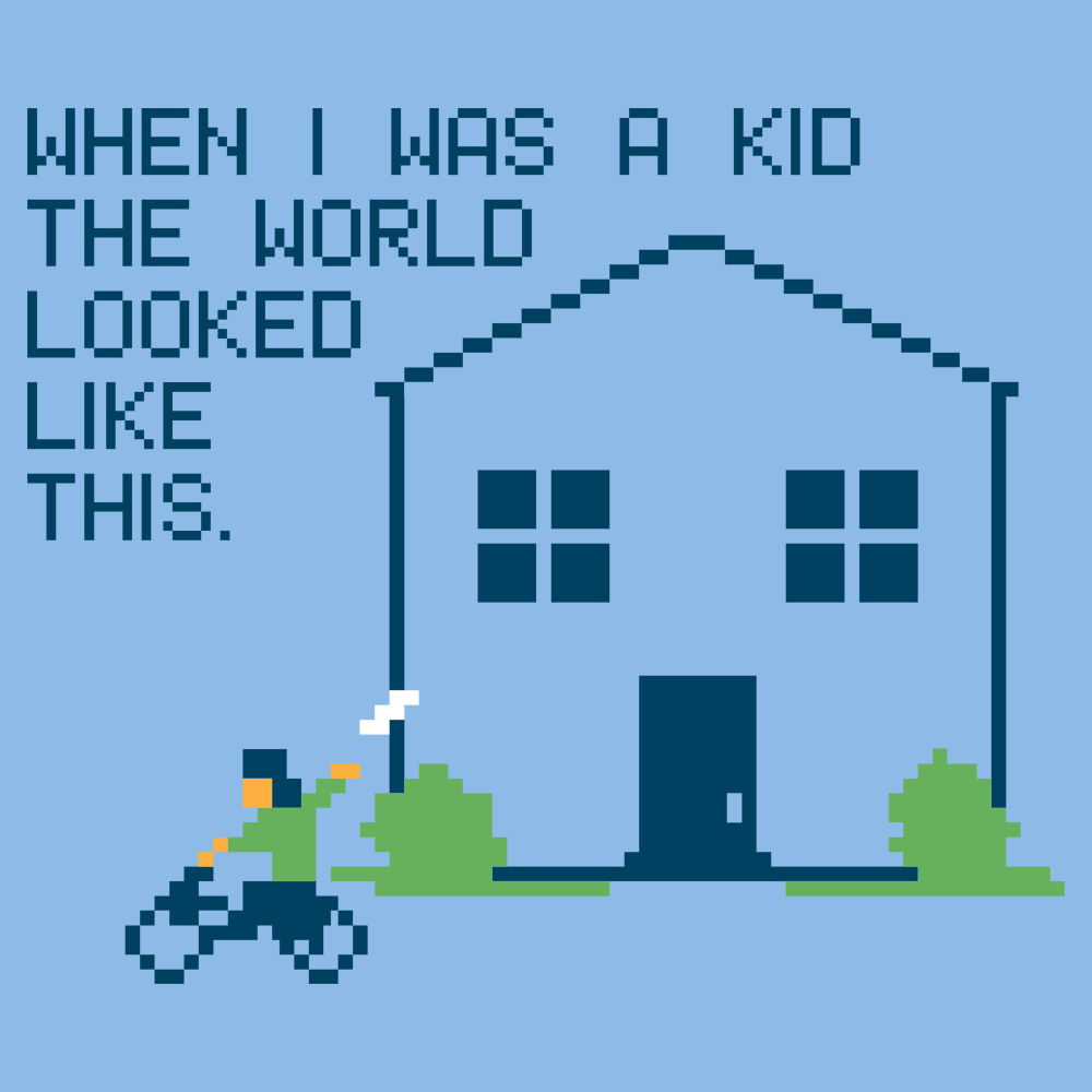 When I Was A Kid The World