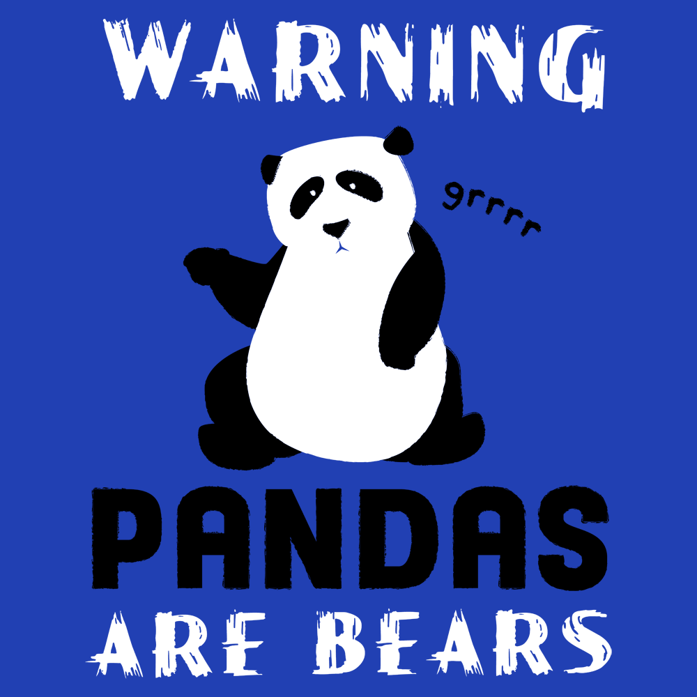 Warning, Pandas Are Bears