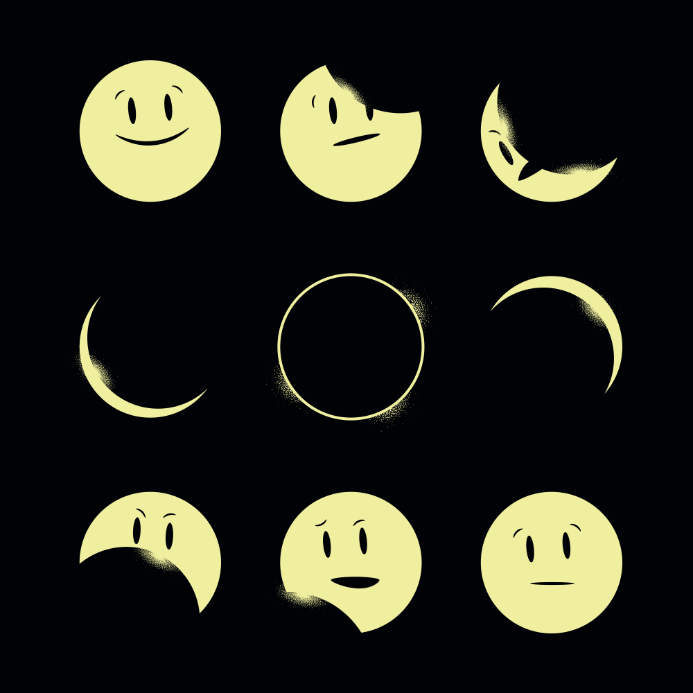Eclipse Emoji