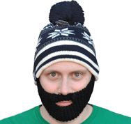 Bearded Winter Hat
