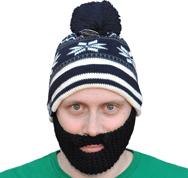Bearded Winter Hat
